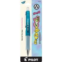 Pilot BDGG7 Dr. Grip Neon Gel-Rollerball, Fine, Electric Blue Barrel