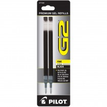 Pilot BG27R G2 Gel Ink Refills, Fine, Black