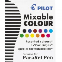 Pilot ICP31 Parallel Pen Refill - 12 Color Assortment
