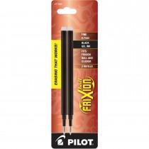 Pilot FriXion Refill, Fine Point, Black, 2pk