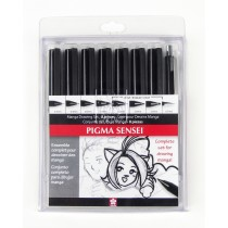 Sakura Pigma Sensei - 8 piece Drawing Set
