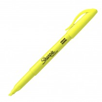 Sharpie Pocket Accent Highlighter, Fl Yellow
