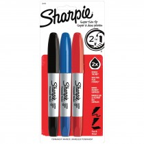 Sharpie Super Twin Tip Asst 3 CD