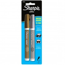 Sharpie Poster Paint, Water Base 2CD Gold Silver Fine