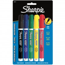 Sharpie Poster Paint, Water Base 5CD Asst Fine
