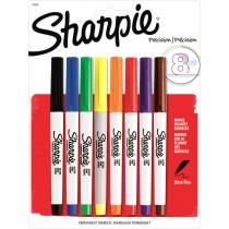 Sharpie Ultra Fine Pt Perm Marker, 8 CLR Set