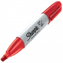 Sharpie Chisel, Red