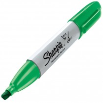 Sharpie Chisel, Green