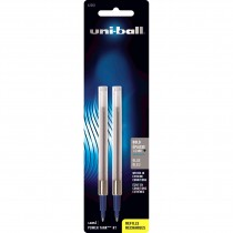 Uni Ball Power Tank RT Refill, 1.0mm Blue 2/pk