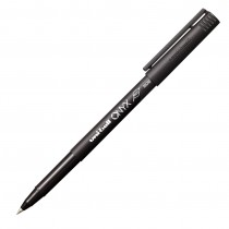 Uni-Ball Onyx R/ball Pen, Micro, Black