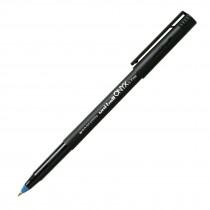 Uni-Ball Onyx R/ball Pen, Fine, Blue