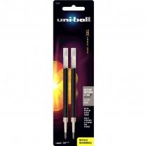 Uni-Ball 207 Gel Pen Refill Med Black 2cd