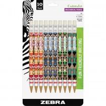 Zebra 51211 Cadoozles Woodlands Mechanical Pencil 0.9mm Assorted 10pk