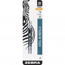 Zebra 88122 JK-Refill 0.7mm Blue 2pk