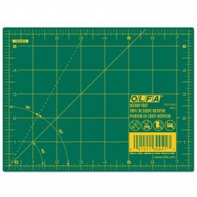 "Olfa RM-6X8 Cutting Mat, 6"" x 8"" Green"