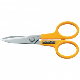 Olfa SCS-2 Scissors, Stainless Steel Serrated Edge 7""